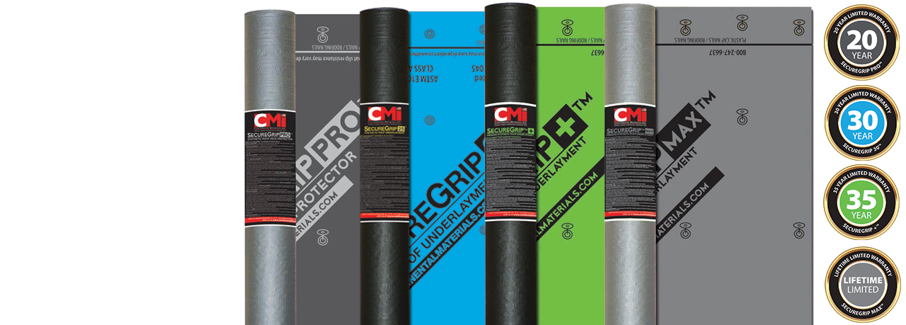 SecureGrip™ Synthetic Underlayment